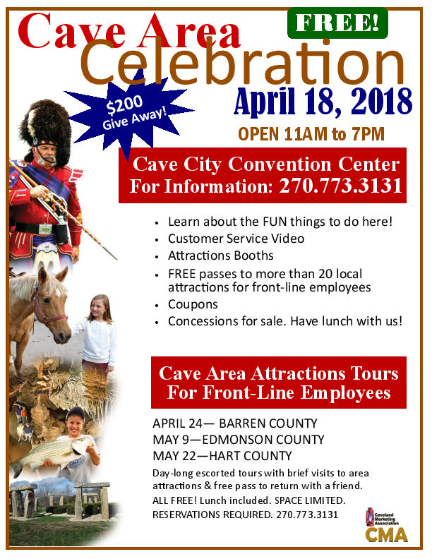Cave Area Celebration – Cave City Convention Center